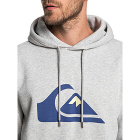 Quiksilver Big Logo Capuche Homme, light grey heather